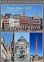 Rhein-Main 2022 vom Taxifahrer Petrus Bodenstaff (Tischkalender 2022 DIN A5 hoch): 12 Staedte im Rhein-Main-Gebiet (Monatskalender, 14 Seiten )