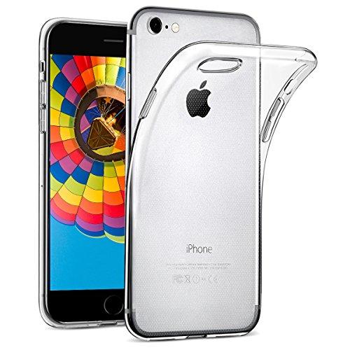 wsiiroon Hülle für iPhone SE 2020, iPhone 7 / iPhone 8 Handyhülle [Crystal Clear] Soft Flex Silikon Transparent Durchsichtig [Ultra Dünn] Klar Weiche TPU Schutzhülle für iPhone SE 2020/8/7 [4,7 Zoll]