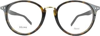 Plastic Round Eyeglasses 0086 Dark Havana