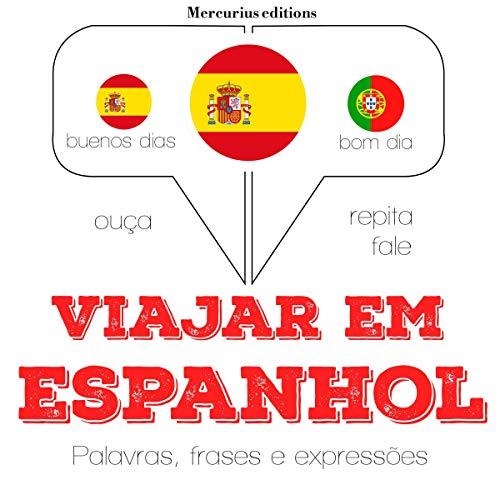 Viajar em espanhol audiobook cover art