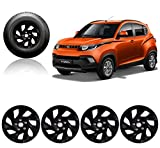 Autopearl 14-inch Press Type Fitting Car Full Wheel Cover Caps for Mahindra KUV