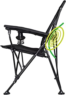 STRONGBACK Elite Folding Camping Lawn Lounge Chair Heavy...