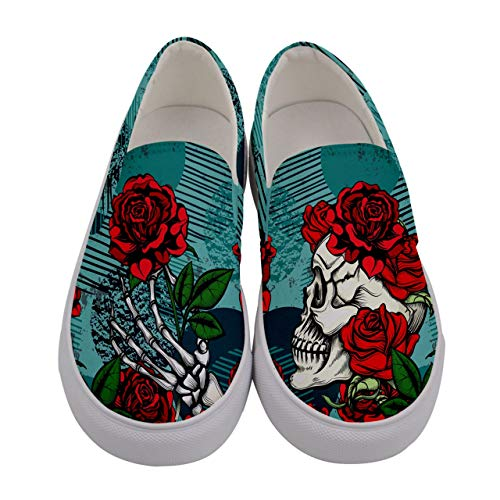 Top 10 best selling list for sugar skull shoes flat