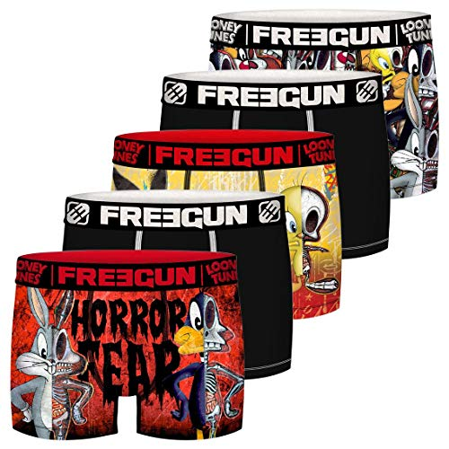 Freegun Jungen LOONEY TUNES TWEETY ET BUGS BUNNY FG/LOO/AM/3/PK5 Unterwäsche, P1, 8/10 Jahre (5er Pack)