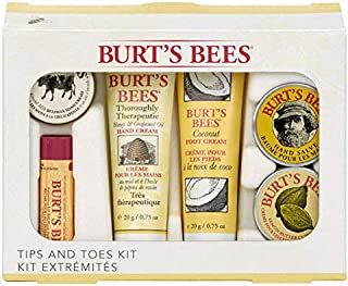 Burts bees tips and toes gift set
