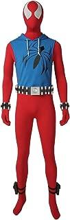 Men's Suit for Ben Reilly Cosplay Costume Jumpsuit