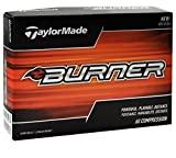 TaylorMade 2017 Burner Golf Balls, White (Pack of 24)