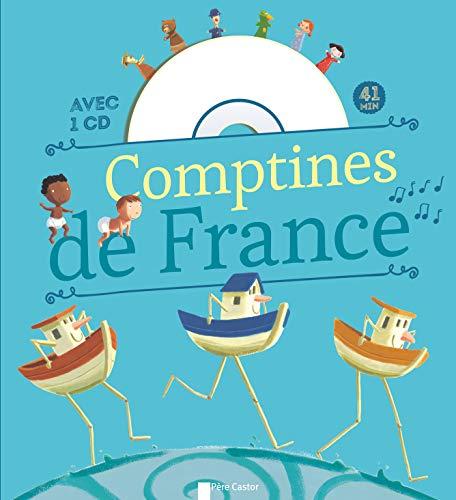 Comptines de France pour les petits + CD