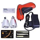 Loboo Idea KLOM Kit de herramienta de selección de cerradura eléctrica con cerradura inalámbrica y cerradura de tarjeta de crédito, con cuchillas de diferentes tamaños.