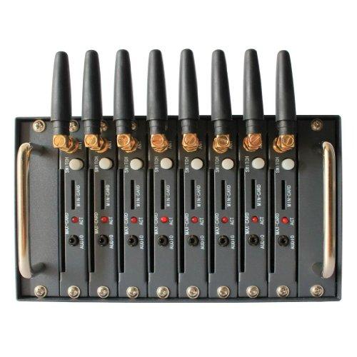 Generic GSM GPRS Modem Pool with Wavecom Q2403A Module 8 Ports USB...