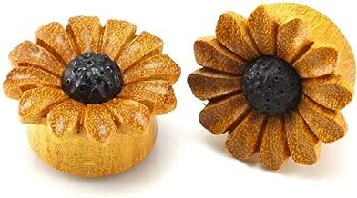 WildKlass Jewelry Sunflower Daisy Flower Organic Plug