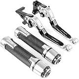 RONGLINGXING Pieces de Sport Motorise Accessoires moto frein d'embrayage Leviers Poignées Guidon main for YAMAHA XMAX extrémités 125 XMAX 125/200/250/400 2016 2017 2018 (Color : N Set of styles)