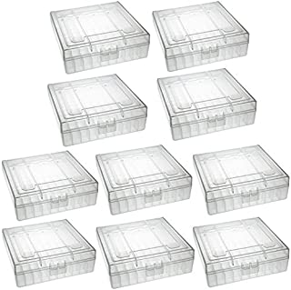 TACBRO Heavy Duty See-Thru Ammunition Storage Boxes .22LR- 10 PACK