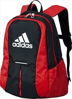 adidas (アディダス) ボール用デイパック 黒×赤 ADP24BKR 1705 -