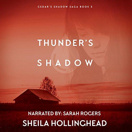 Thunder's Shadow audiobook cover art