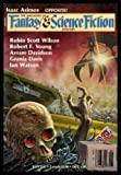 THE MAGAZINE OF FANTASY AND SCIENCE FICTION - Volume 72, number 1 - January 1987