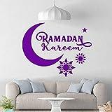 guijiumai Beato Ramadán PVC Tatuajes de Pared Decoración para el hogar...