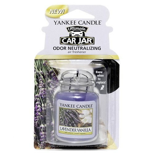 Yankee Candle Car Jar Ultimate, Lavender Vanilla