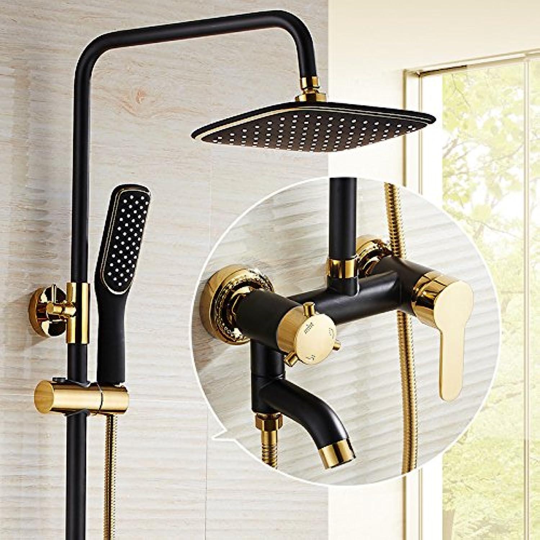 GFEI Shower set   European style all copper shower faucet,B