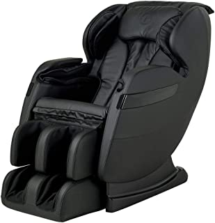 New FOREVER REST FR-5Ks Premier Back Saver, SHIATSU, Zero Gravity Massage Chair with Foot Rolling and Built in Heat, Stretch Mode (Black)
