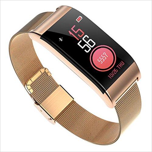 XHZNDZ Fitness Tracker HR, Activity Tracker mit Herzfrequenz und Blutdruck Monitor, Fitness Watch IP67 Wasserdicht Fitness Tracker für Kinder Frauen und Männer Health Tracker Armbänder