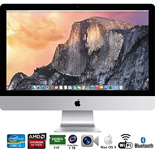 apple all in one computers Apple iMac 27in Retina 5K display Intel Core i5 3.5GHz All in One Desktop (Late 2014) MF886LL/A - (Renewed)