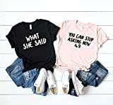 Couples Shirts T-Shirt, You Can Stop Asking Now, Baby Announcement Shirts, Mom & Dad Matching Shirts, Mom To Be, Dad To Be, Pregnancy Reveal 374