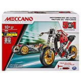 MECCANO MEC MDL 6053371 St Fighter Bike CN UPCX GML, Multicolor