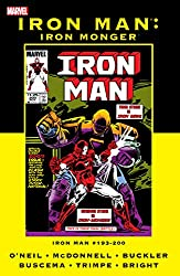 Iron Monger Saga - Collecting Iron Man Vol. 1 #190-200