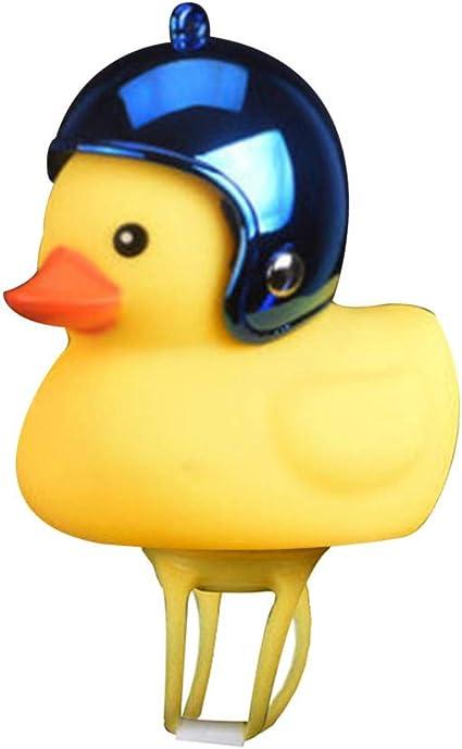 Cartoon Duck Head Light Shining Duck Bike Bell Handlebar Bicycle Accessories
