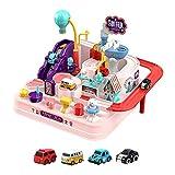 Hearthxy Car Adventure Toy - Juego de pistas de carreras para niños a partir de 3 años
