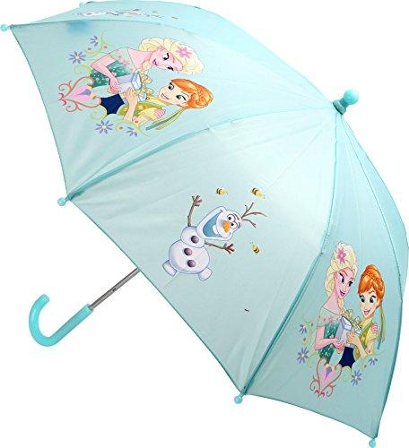 Bavaria Home Style Collection compatibel met Frozen Anna Frozen - paraplu - Anna en ELSA - compatibel met ijskoningin - de handgreep is voor kinderhanden precies goed (Anna en ELSA)