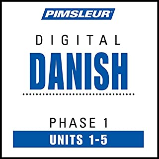 Danish Phase 1, Unit 01-05 audiobook cover art