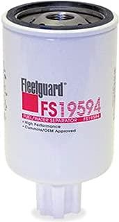 FS19594 Fleetguard Fuel/Water Separator (Pack of 2)