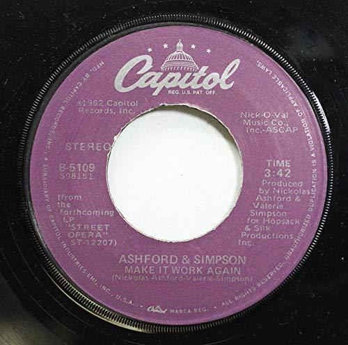 Ashford & Simpson 45 RPM Make it work again / Street Corner