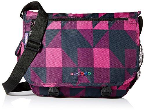 J World New York Terry Messenger Bag, Block Pink, One Size