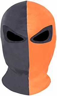 Innturt Cosplay Fabric Mask Balaclava Hood Face Black Orange