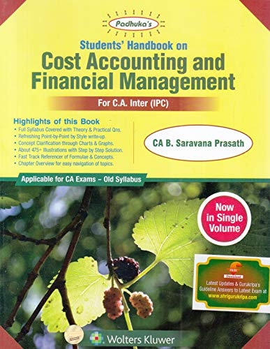 Students Handbook On Cost Accounting and Financial Management