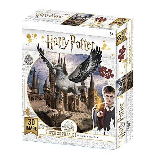 Prime 3D- Redstring-Puzzle lenticulaire Harry Potter Buckbeak 300 pièces (Effet 3D), lenticular Pott
