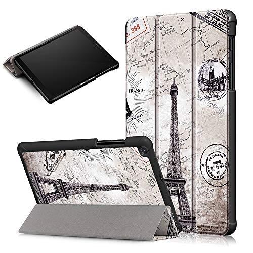 KATUMO Funda para Samsung Galaxy Tab A 8.0 2019 SM-T290/SM-T295 Smart Cover con Soporte Función SM-T290/SM-T295 Carcasa