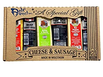Wisconsin Cheese & Sausage Variety Gift Pack