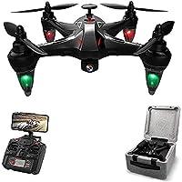 ▶ [Longue vie et sécurité]: Rc Drone a une excellente stabilité et un contrôle facile.2.4 G à distance Control Technology, 4 canaux et 6 axes gyroscopes sont très sûrs pour les enfants et les adultes.Il prend 50 minutes pour le Drone de charge Usb po...