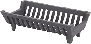 HY-C Liberty Foundry G16-BX Heavy-Duty Cast Iron Franklin Style Fireplace Grate, 15