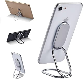 Phone Ring Holder Finger Kickstand, WORLDMOM Foldable 360°Rotation Cell Phone Stand for Office Desktop & Magnetic Mount, A...
