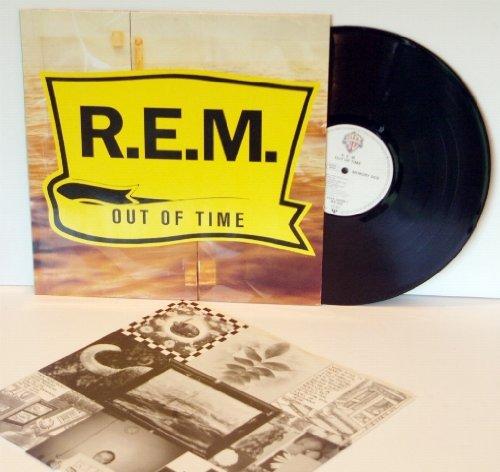 R.E.M. out of time, vinyl, first EU pressing 1991