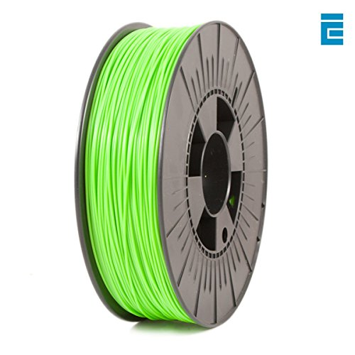 ICE Filaments PLA filament, 1.75mm, 0.75 kg, Vert (Fluo Gnarly Green)