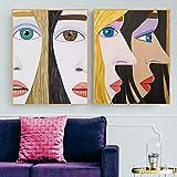 LKLKK Moderne Brian Calvin lebensechte Dekor Wandkunst