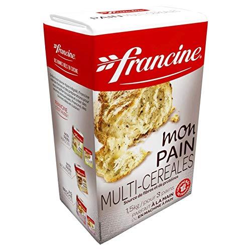 FRANCINE - Farine Pain Multi Céréales 1,5Kg - Lot De 3