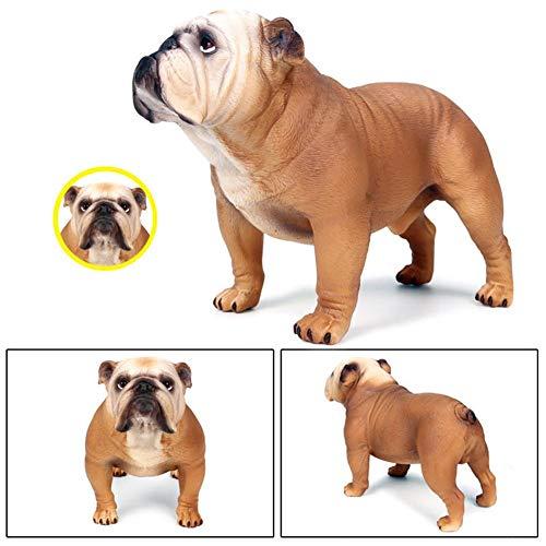 Englische Bulldogge Figur Großes Bulldog Modell Kinderspielzeug Vivid Arts