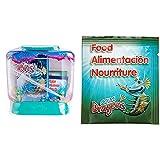 Aqua Dragons Mundo Submarino Juguete Educativo, Multicolor (World Alive 4002) + Comida